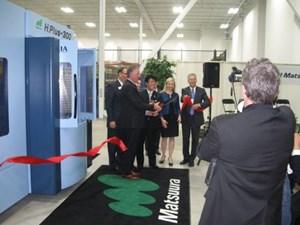 Matsuura Officially Opens U.S. Facility