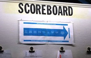 "Kirchner's ""Scoreboard"" Finds Its Way On Shop Walls"