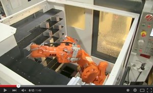 Robot Changes Vise Jaws for Continuous Machining