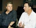 Bruce Bradley and Paul Sossi