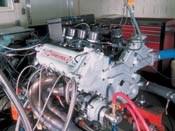 Dynamometer testing on Chevy Indy V8