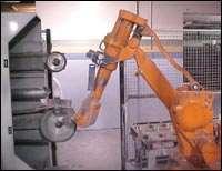 Robotic polishing cell