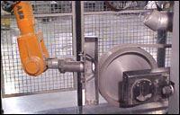 Automated robotics finishing