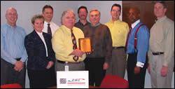 David Lawrence and leadership team