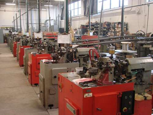 Escomatic machine line