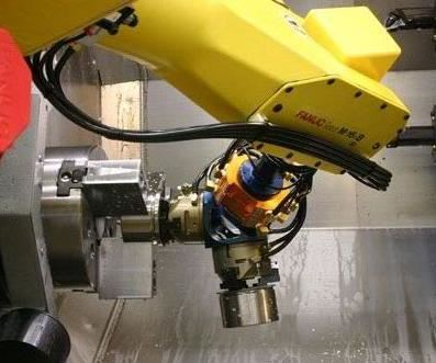 Fanuc Robot Part Loading