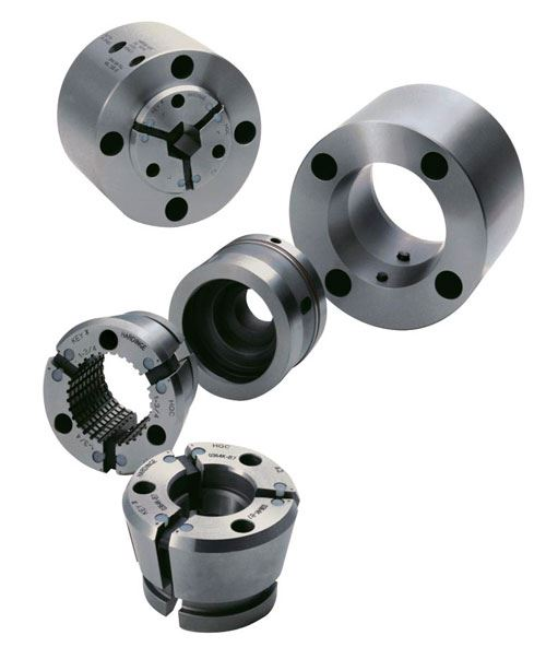Spindle-mount with drawbar adapter