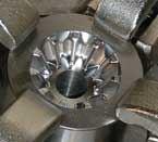 Hard milling forging