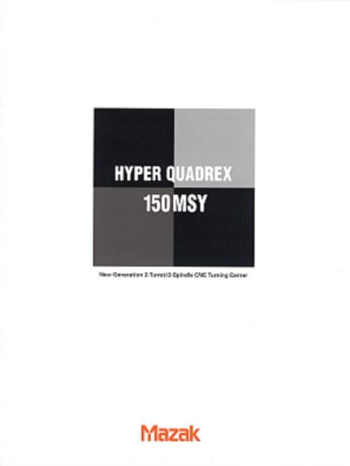 Mazak Hyper Quadrex Literature