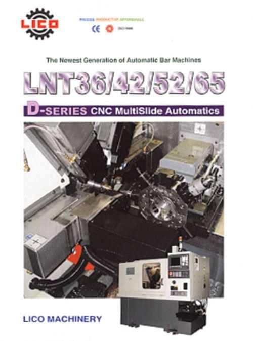 D-Series automatic bar machines literature