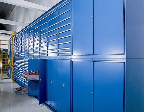 Flexible Tool Cribs Production Machining
