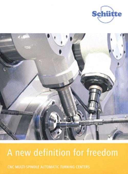 Schutte CNC multi-spindle automatic literature