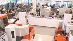 REXAM's new tooling area