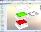Parametric 3-D CAD system