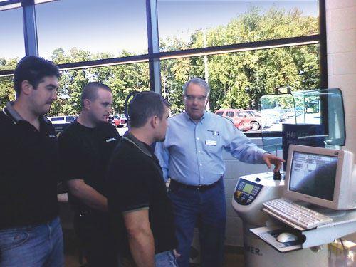 Haimer York Tech training