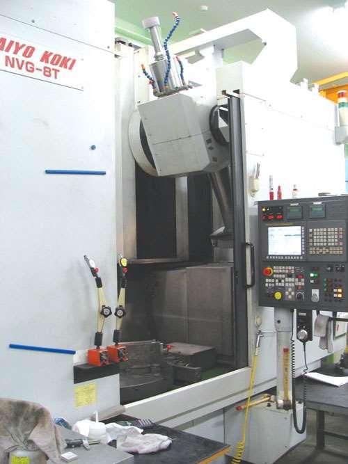Taiyo Koki vertical grinding machine