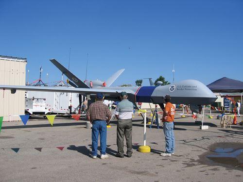 Predator B at EAA 2009