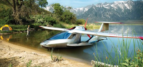 Icon A5 at EAA 2009