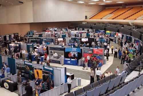SAMPE Tech Wichita Exhibit Area