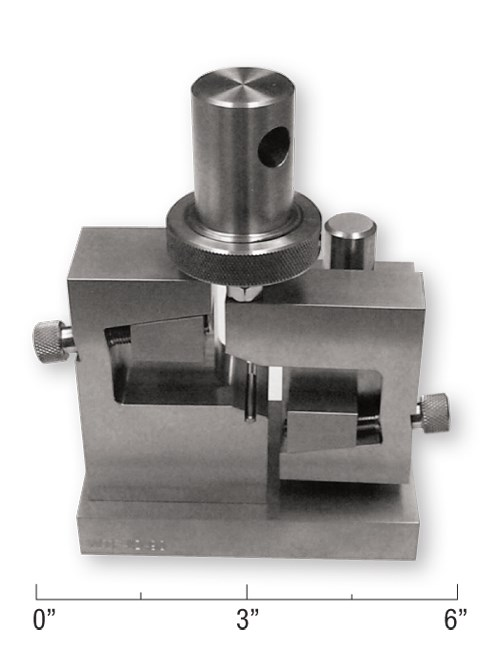 Fig 1 - Iosipescu shear test fixture
