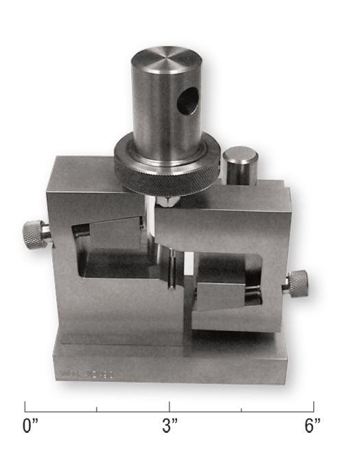 Fig 1 - Iosipescu shear test fixture