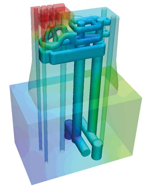 Cooling circuits