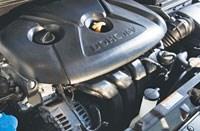 Hyundai all-aluminum 1.8-liter four