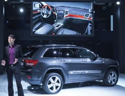 Klaus Busse with the 2011 Jeep Grand Cherokee