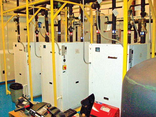 Geothermal cooling at Accu-Mold Plastics