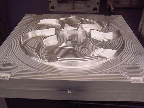 mold machining mode