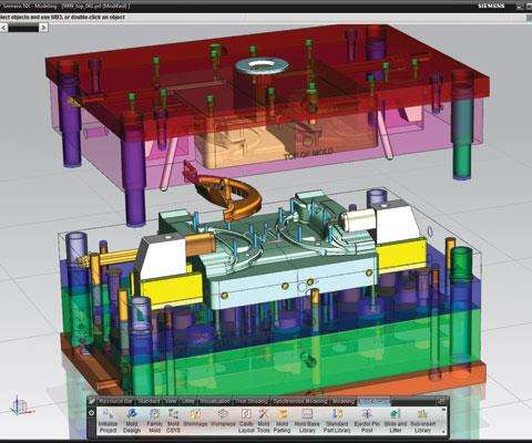 NX integrated CAD/CAM system