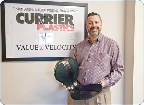 John Currier, president of Currier Plastics