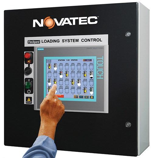 Novatec FXS FlexXpand PLC controller for central conveying