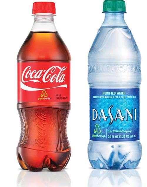Coca-Cola bio-PET PlantBottle