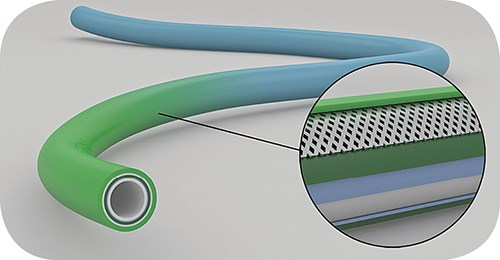 Tri-Tie three-layer extruded catheter shafts from Putnam Plastics
