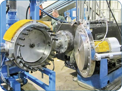 Fimic continuous screen changer for recycling