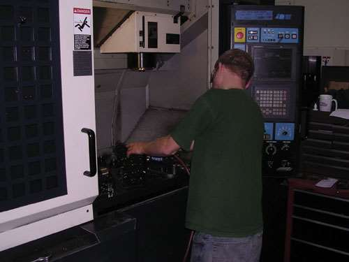 makinoV55 CNC mill