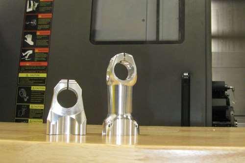 Amp stem and an earlier stem design