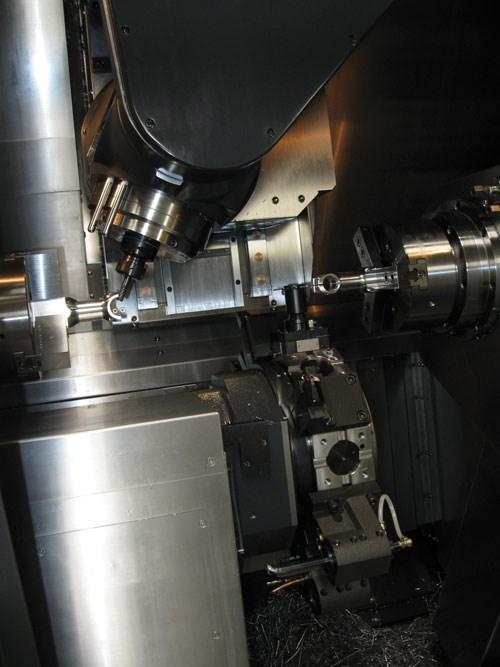 machine's nine axes