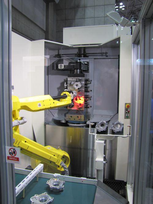 Makino's a51nx horizontal high-production milling machine