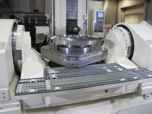 Yasda 5-axis machine