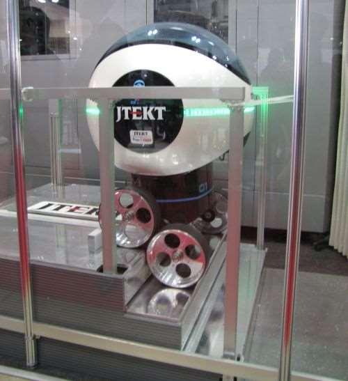JTEKT step-climbing robot