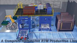 High-speed RTM work cell holds promise for faster part production