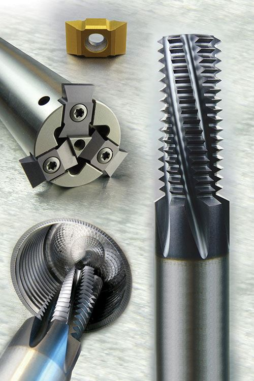 thread milled oil and gas parts