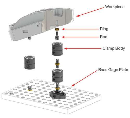 FCS modular clamping system