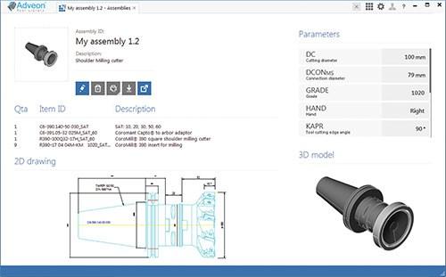 ISO 13399 diagram