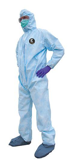 Las películas APTRA se laminan con telas no tejidas para producir prendas de protección
