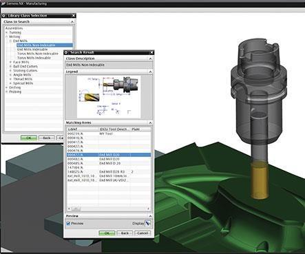 Siemens PLM MRL 3D tool assemblies