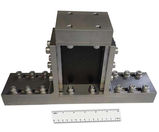 Fig. 1: An ASTM D7137 test fixture