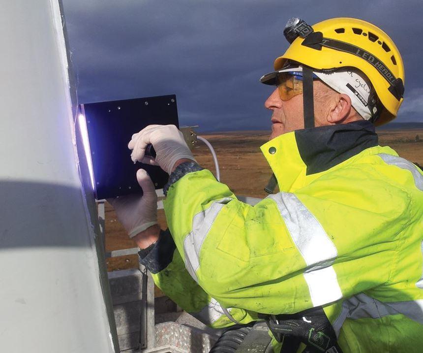 UV cured wind turbine